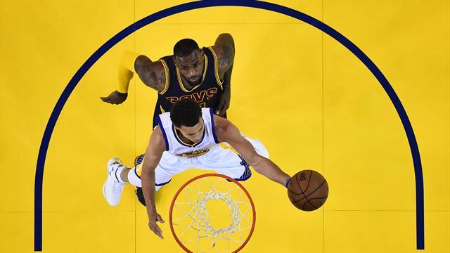 Curry, LeBron et les autres : le best-of de l'année NBA