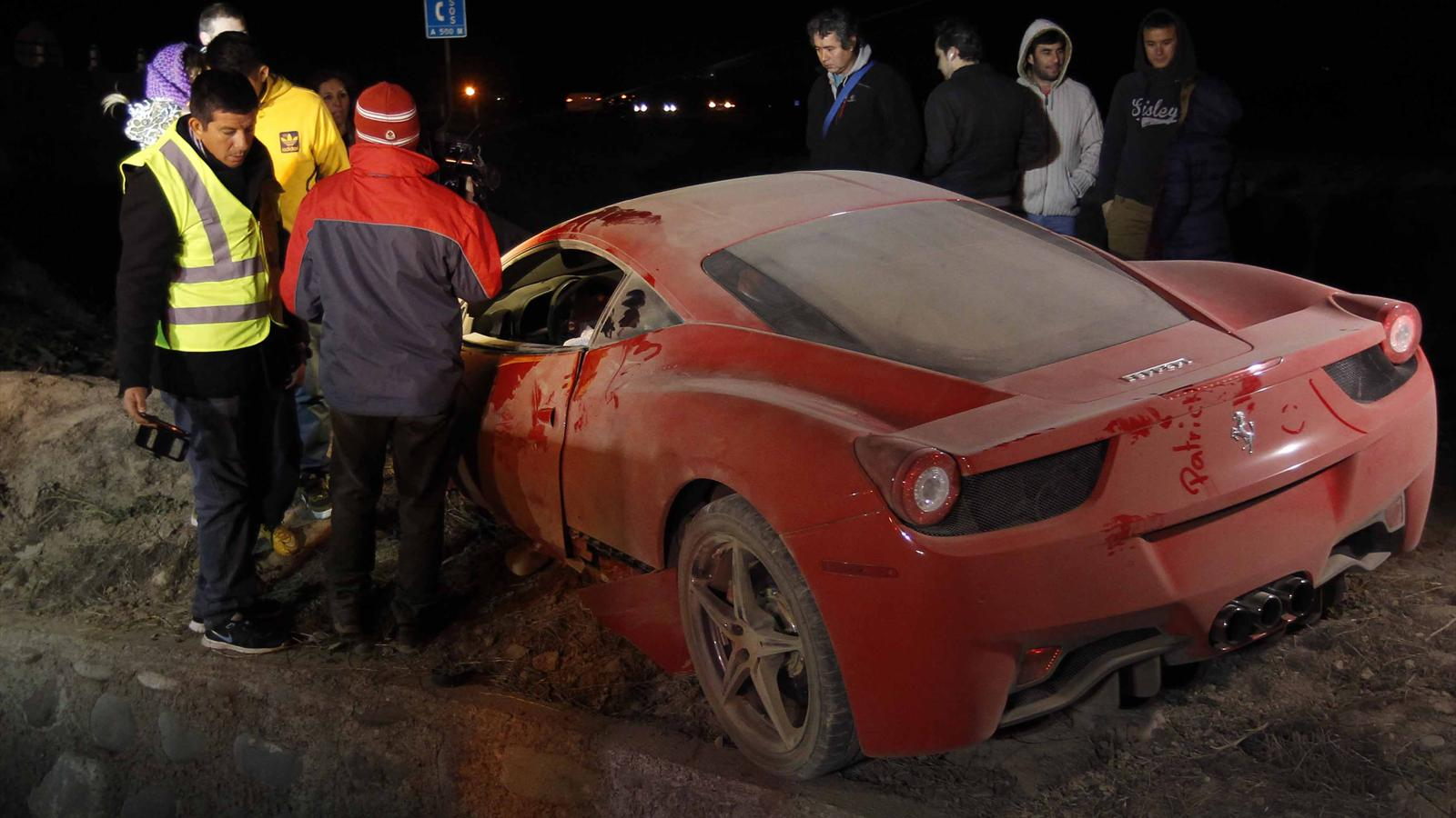 Chilean Soccer Player Car Accident