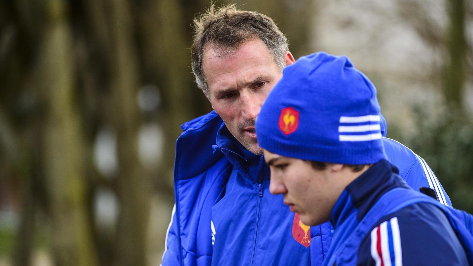 Olivier Magne (France U20) - février 2015