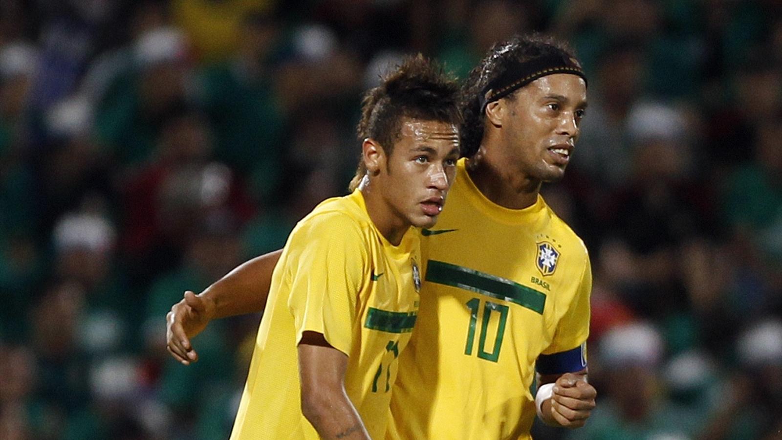 Neymar Vs Ronaldinho 2012 Ronaldinho: Neymar wil...