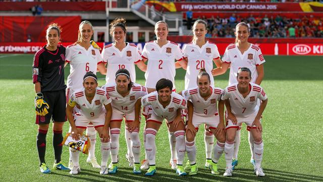 España, en el Grupo D junto a Inglaterra, Escocia y Portugal