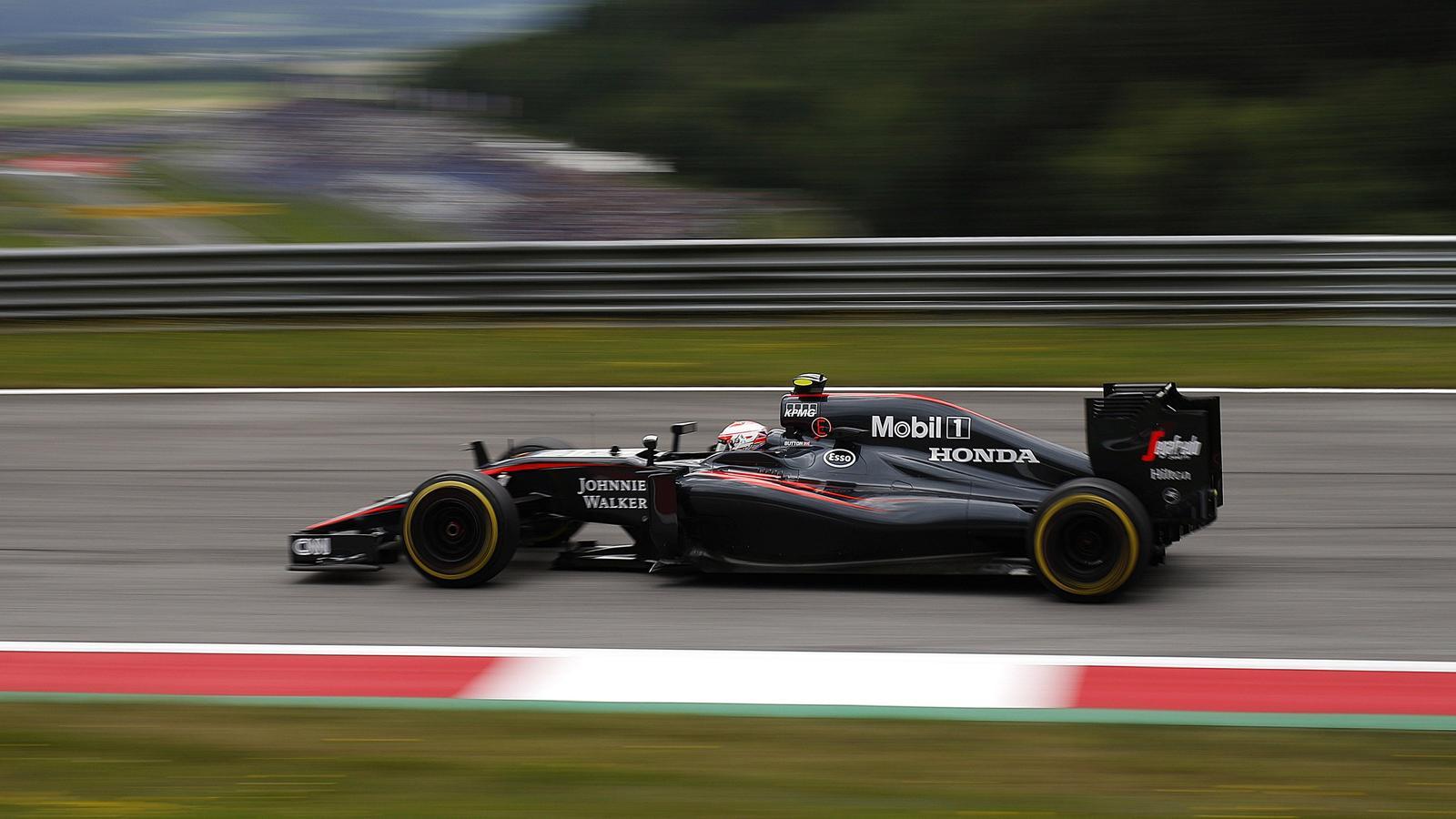 Jenson Button (McLaren) - GP of Austria 2015