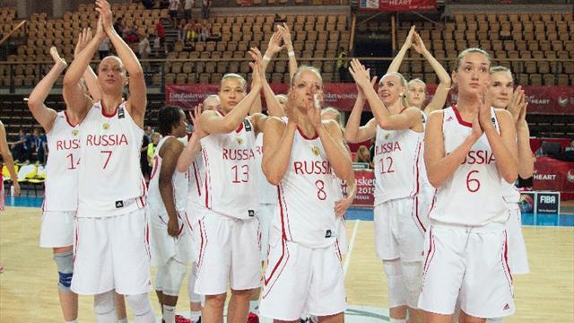 Женская сборная России вышла в четвертьфинал чемпионата Европы
