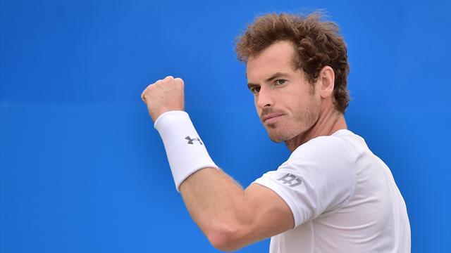 Deux victoires et un titre, le dimanche parfait de Murray