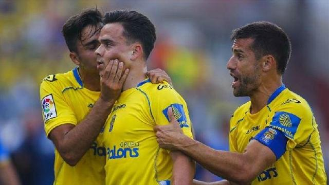 Las Palmas stun Zaragoza to claim final promotion spot