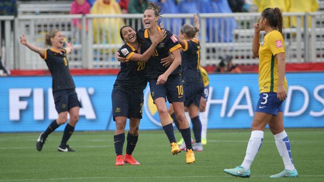 Kadınlar Dünya Kupası'nda Brezilya sürprizi