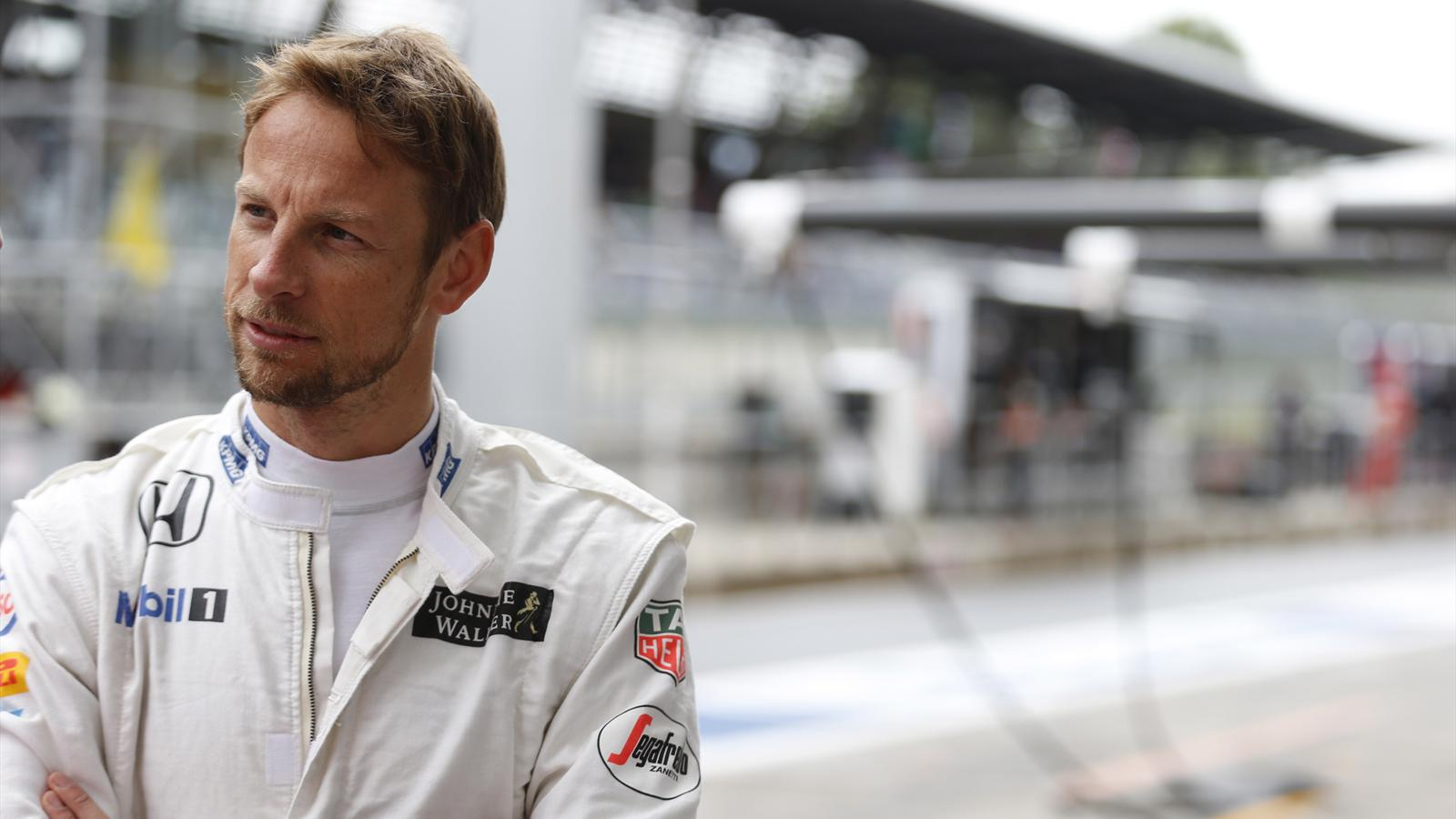 Jenson Button (McLaren) au Grand Prix d'Autriche 2015