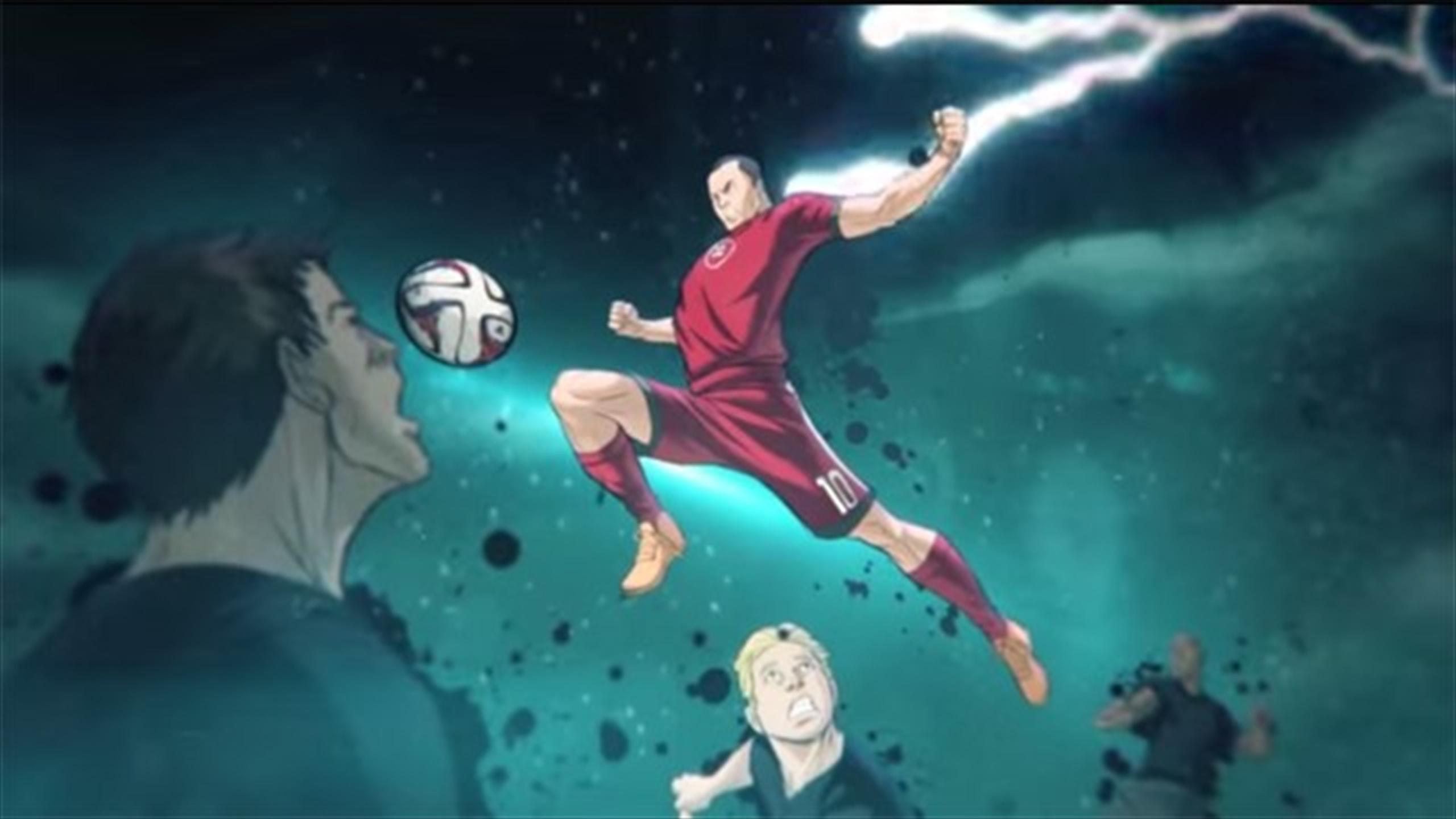 Vector palloni di calcio o calcio cartone animato