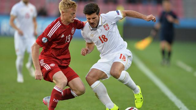 Denmark top Group A to seal final four spot after victory over Serbia