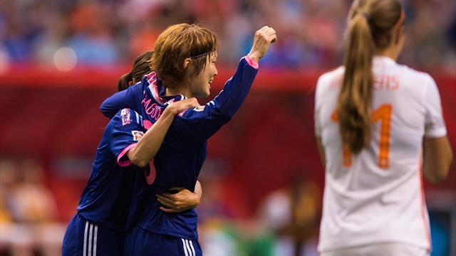 Kadınlar Dünya Kupası'nda son çeyrek finalist Japonya
