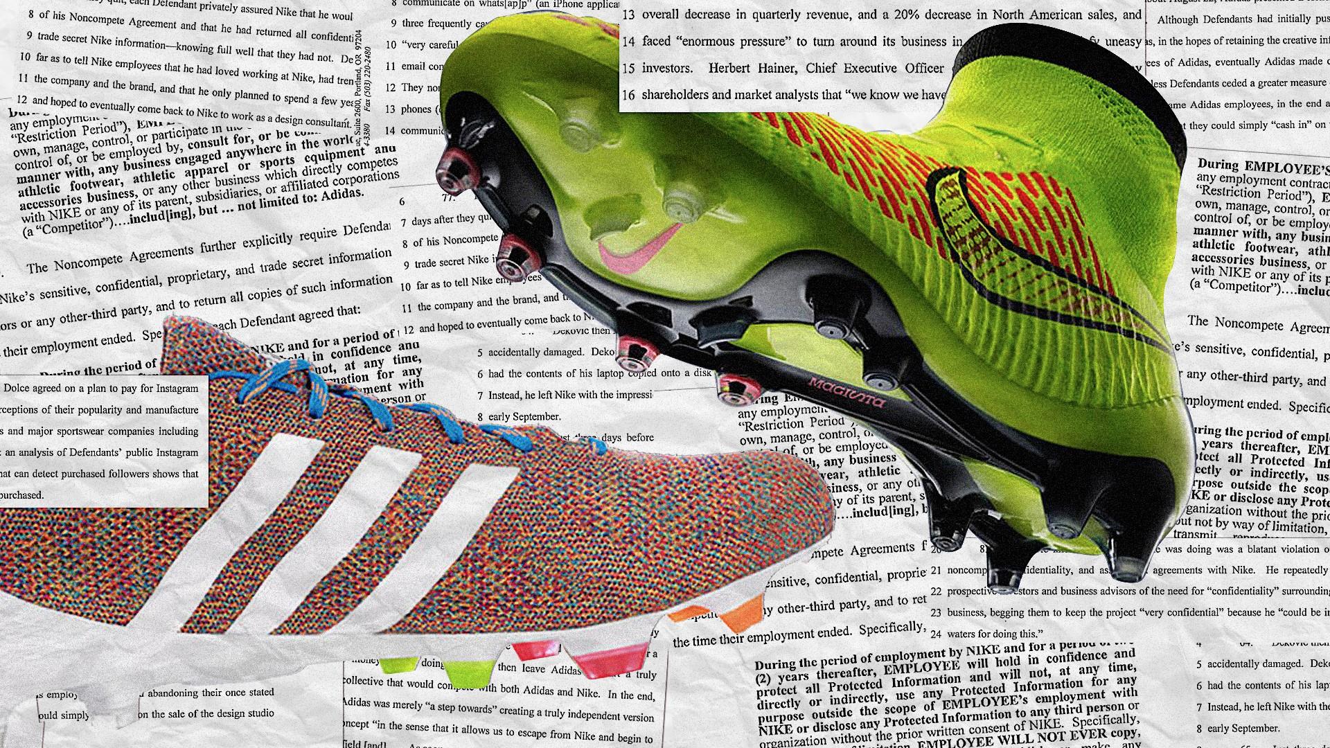 Nike ve Adidas