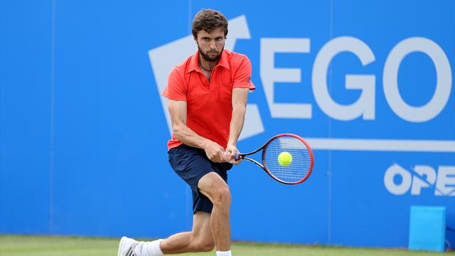 Gilles Simon sets up Sam Querrey quarter-final clash in Nottingham