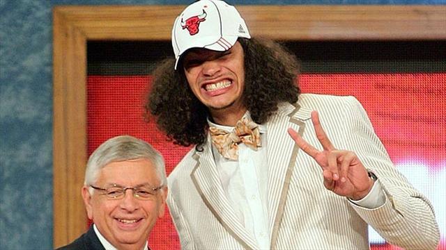 Noah, LeBron, Stoudemire : Le Top 10 des pires costumes vus � la draft