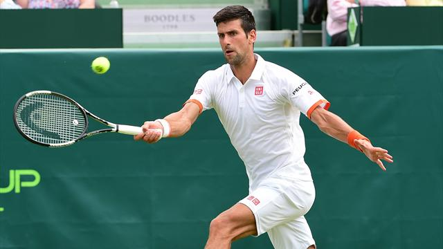 Novak Djokovic suffers shock straight-sets defeat to teenager in Wimbledon warm-up
