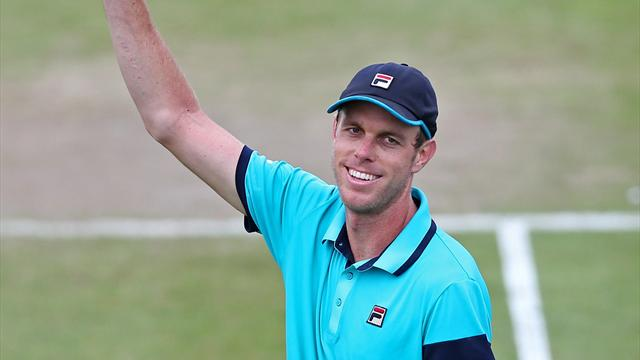 Querrey battles to opening win at Ricoh Open