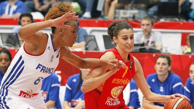 España cae ante Francia y luchará por el bronce (63-58)