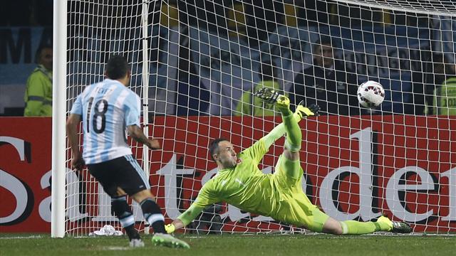 Copa America'da 3. yarı final bileti Arjantin'in