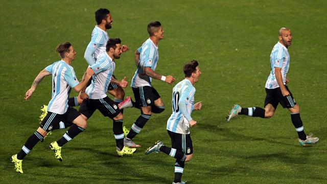 Pour Messi et l'Argentine, le rêve continue
