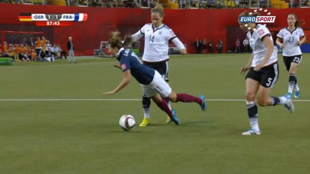 Watch: Karma strikes France star after comically bad dive