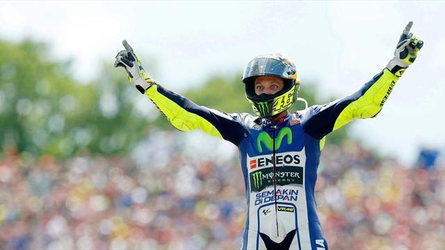 Росси выиграл «Гран-при Голландии»