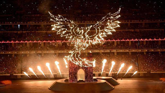 Avrupa Oyunları görkemli bir törenle sona erdi