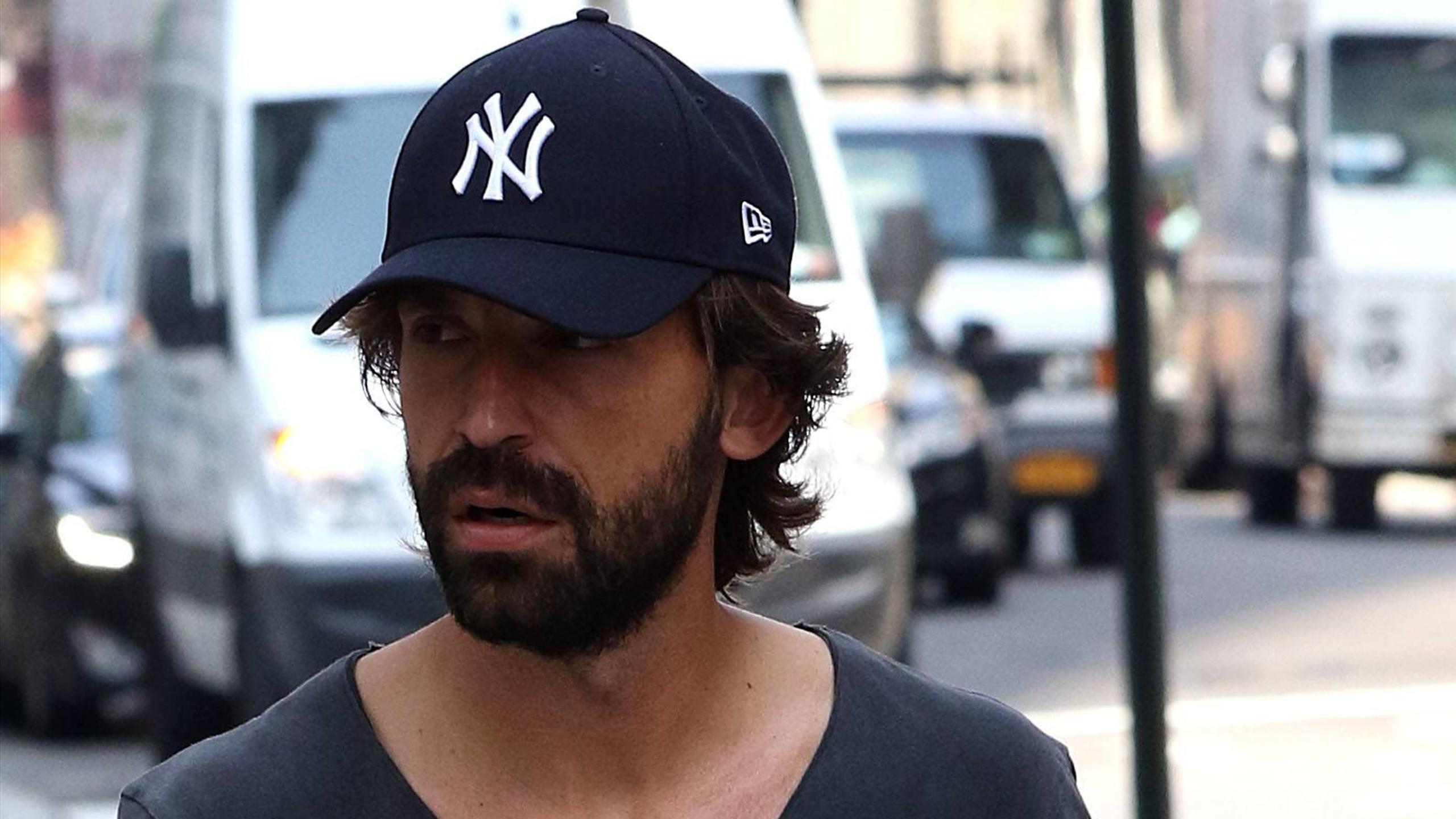 Andrea Pirlo in New York