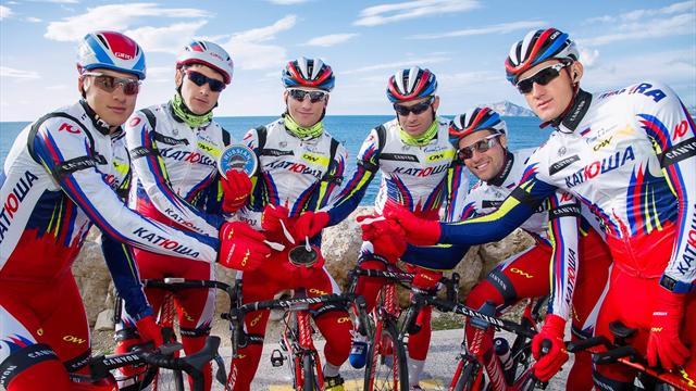 Велокоманда «Катюша» определилась ссоставом на2017 год