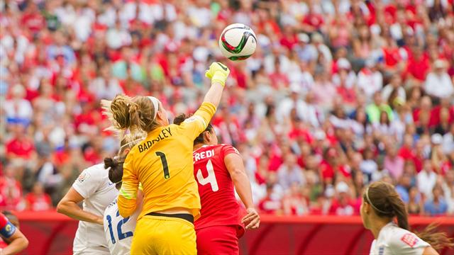 England coach optimistic Karen Bardsley will be fit for semi-final