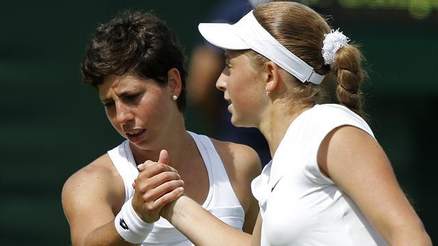 Round-up: Jelena Ostapenko shocks Carla Suarez Navarro