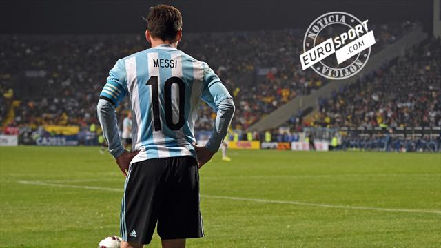 ¿Por qué Messi no marca goles con Argentina?