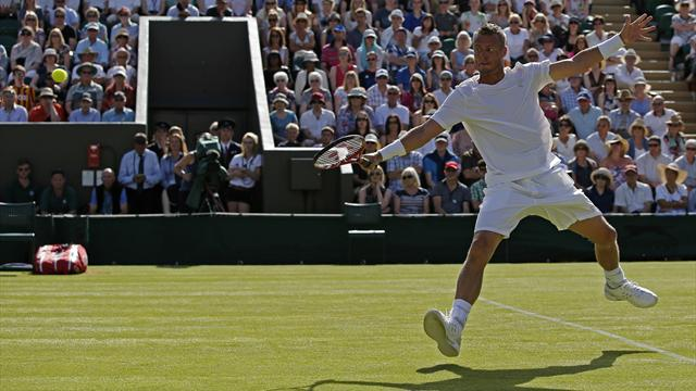 Tennis : Hewitt, oiseau et bicyclette : �a s'est pass� lundi � Wimbledon