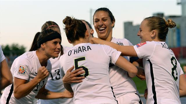 Carli Lloyd and Kelley O'Hara send USA through to Women's World Cup Final