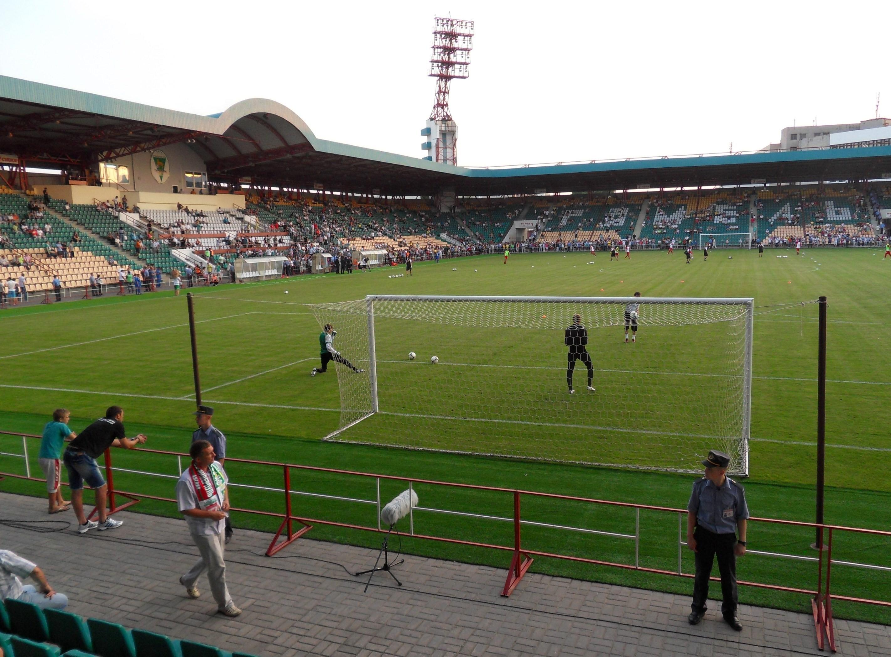 Стадион «Центральный» в Гомеле