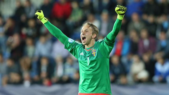 Sweden win European U21 Championship on penalties