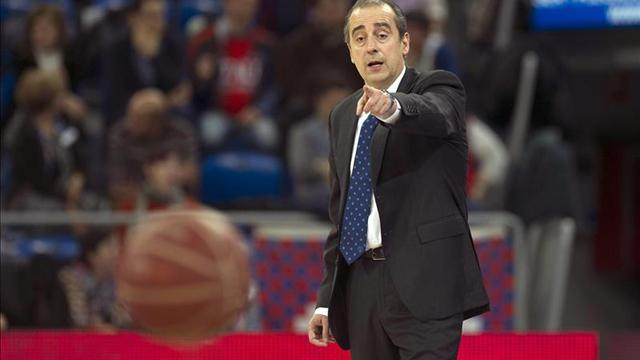 Txus Vidorreta no seguirá como entrenador del Movistar Estudiantes