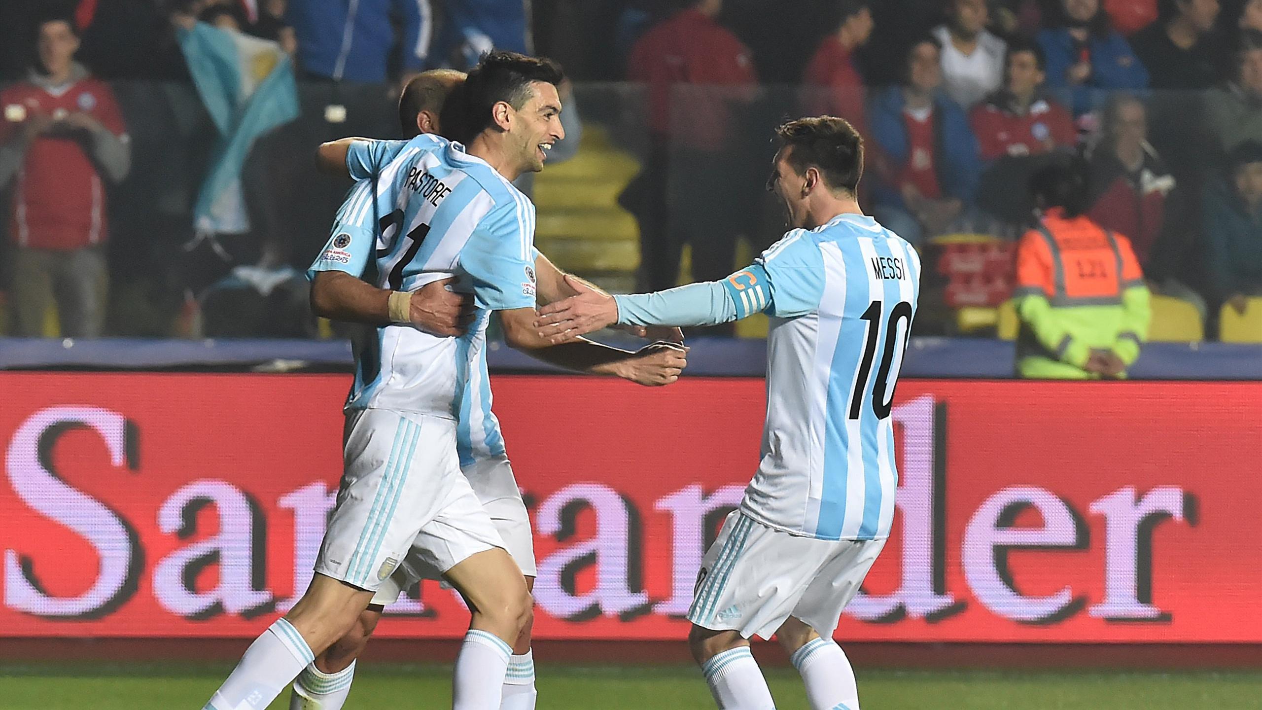 Argentina Messi Pastore