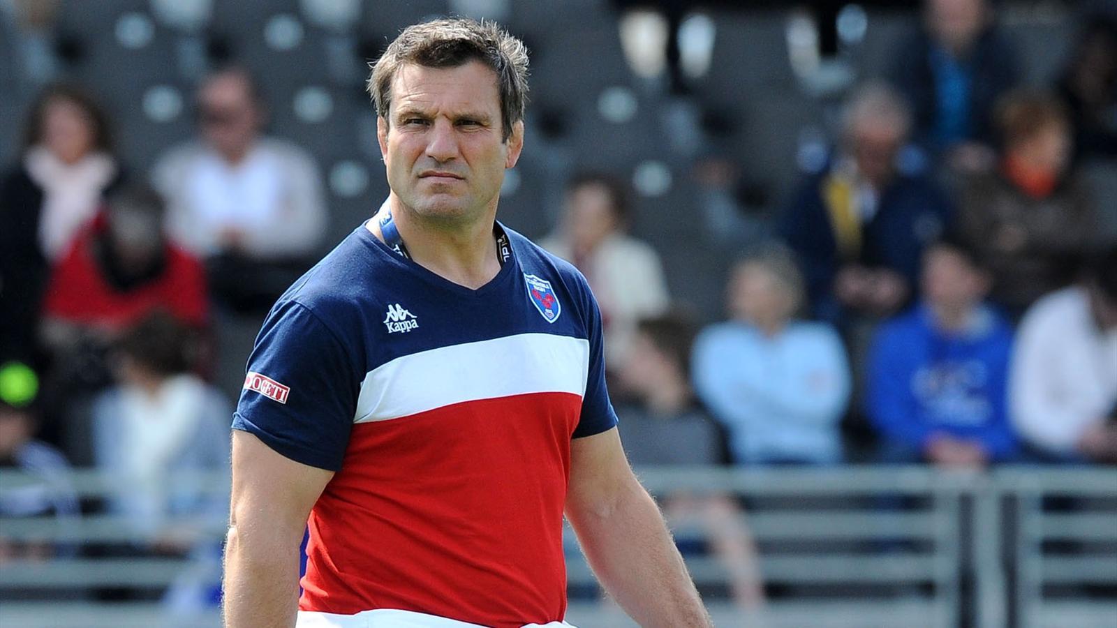 Le manager de Grenoble, Fabrice Landreau - mai 2015
