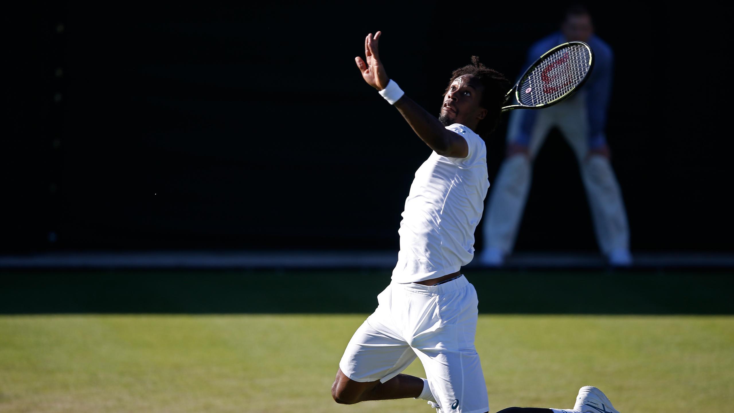 Gaël Monfils - Wimbledon 2015