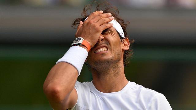 Impuissant et loin de son meilleur niveau, Nadal n'aura passé qu'un petit tour à Wimbledon