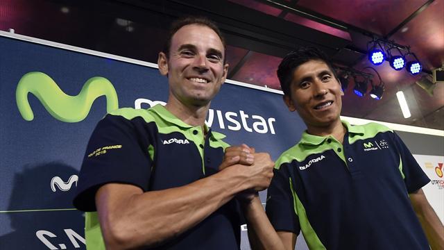 Valverde se hisse en tête du Tour de Catalogne