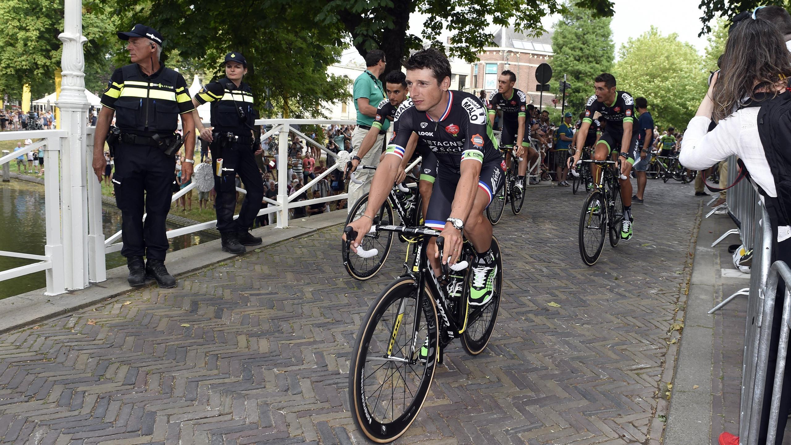 Pierrick Fédrigo apporte son expérience à Bretagne - Séché Environnement sur le Tour de France 2015