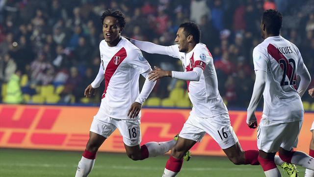 Copa América: Perú-Paraguay: Otra vez terceros (2-0)