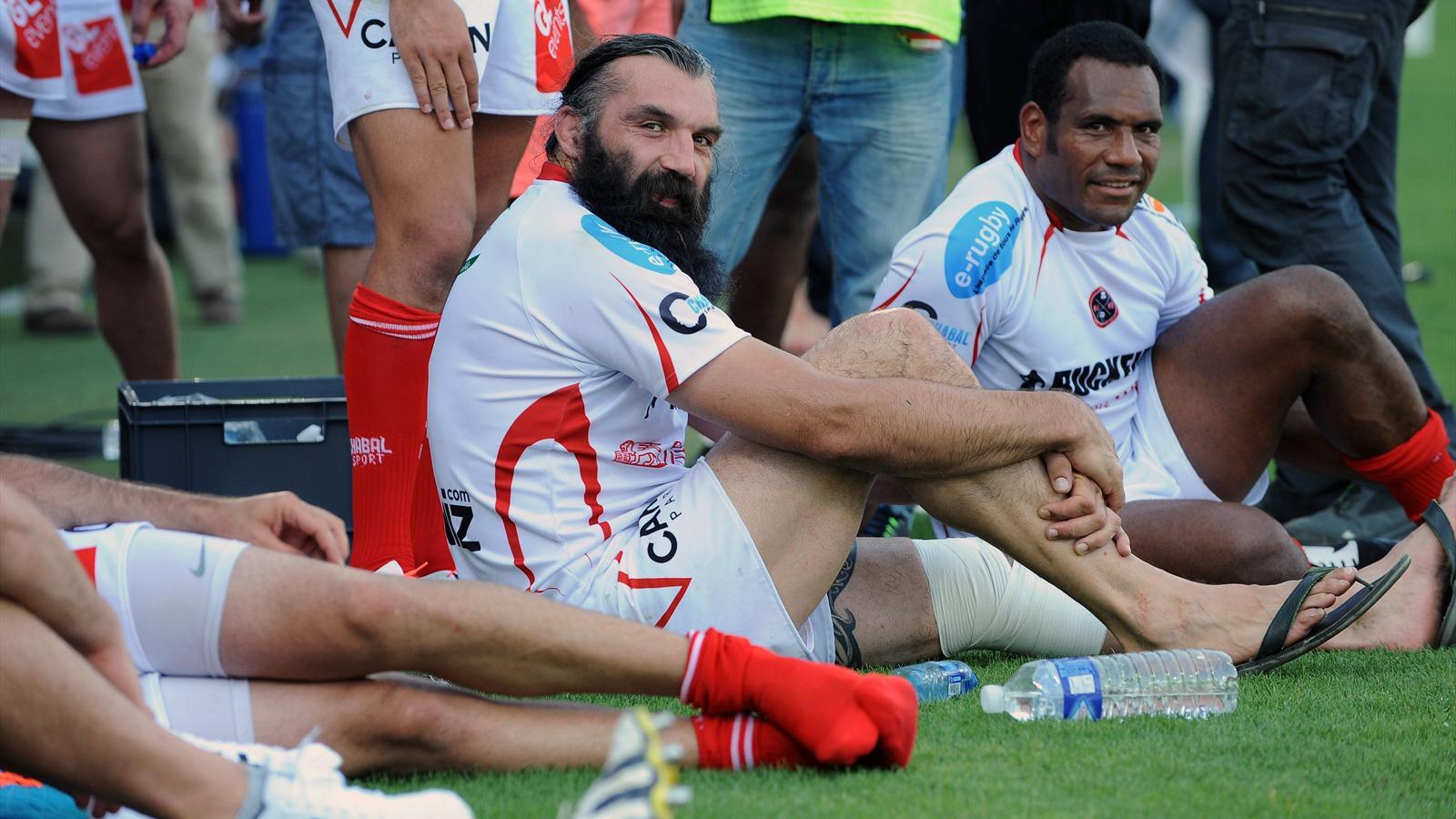 Chabal s'est blessé à un genou lors de son jubilé - 4 juillet 2015