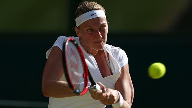 Kvitova sortie d'entrée par Sasnovich