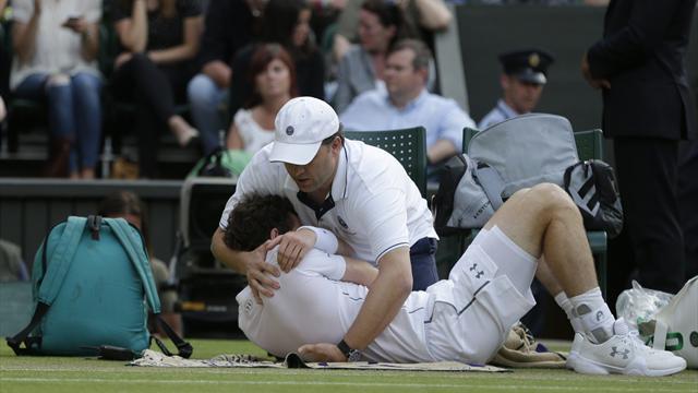 Murray a eu mal � l'�paule mais a tenu bon