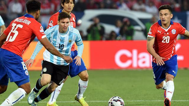 Le tirage a bien fait les choses : l'Argentine et le Chili se retrouveront d'entrée