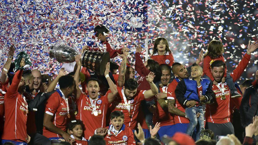 Le Chili, vainqueur de la Copa America 2015