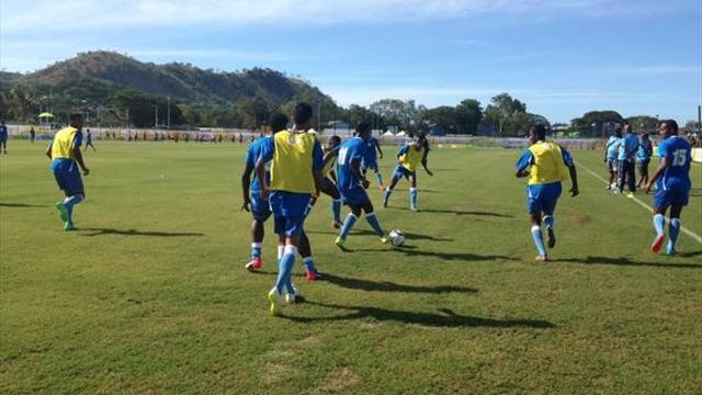 Сборная Фиджи победила Микронезию со счетом 38:0