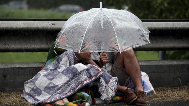 Tour de Farce: It's raining, men!