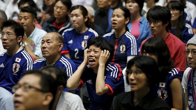 Tears in Tokyo as Japan thrashed